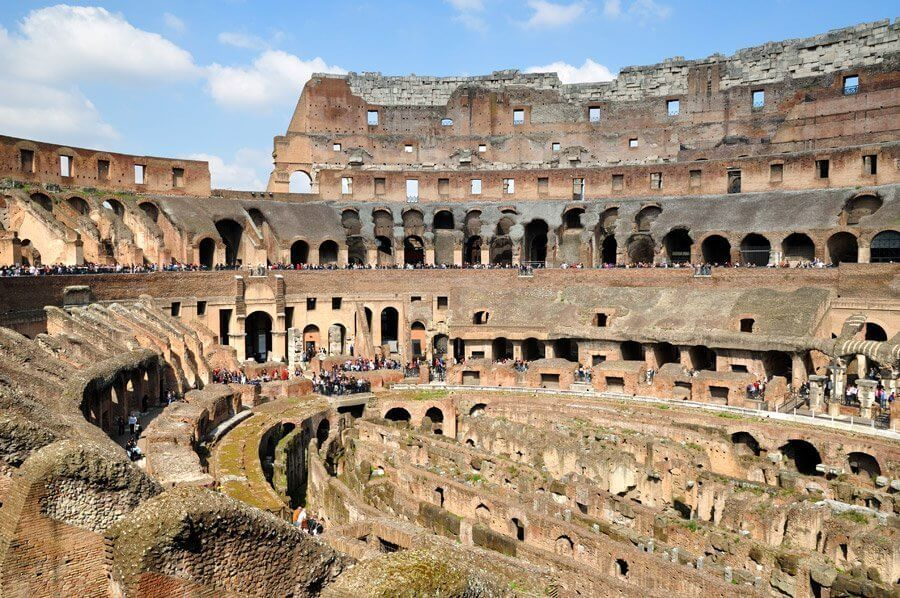 Sobre el Coliseo de Roma en Italia